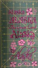 Acid Free Alaska Scrapbook Stickers set, Pink Alaska, Butterfly sticker, NEW