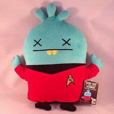 "SDCC 2015 Exclusive - Star Trek 14"" UGLYDOLL Babo Bird as RED SHIRT Plush Doll"