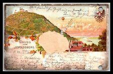 GP GOLDPATH: AUSTRIA POSTCARD 1897 _CV776_P09