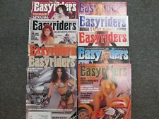 VINTAGE EASYRIDERS MOTORCYCLE MAGAZINE JAN-SEPT 1994 ALL CENTERFOLDS INTACT