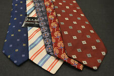 Lot of 6 JOS A BANK Neckties - incredibly cheap price! Grab it! E1