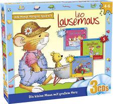 Leo Lausemaus - Folge 4-6 - 3er Box - Hörspiel - CD - *NEU*