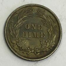 U.S.A. AMERICA 1898 MONETA D'ARGENTO Barber Dime