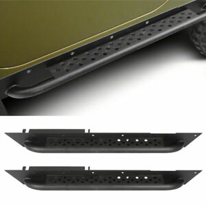 Side Step Guard Protection Running Board Nerf Bar for 1997-2006 Jeep Wrangler TJ