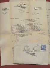 C C Dearden, 'Utica' Vicarage Lane, Horley, Surrey. 1966  Letters qp.856