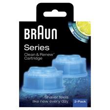 Braun 3305331701 Clean & Renew Reinigungsbehälter Reinigungskartuschen 2er Pack