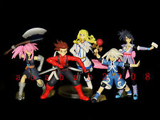 Bandai Tales of Symphonia Figure gashapon(full set of 5 figures)