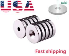 Magpow Disc25mm Countersunk 56mm Disc Round Magnets For Science Crafts Project