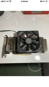 Gigabyte Rx 570 4gb Graphics Card Nzxt Cooler Fan Custom **fully Working**