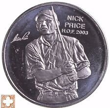 Nick Price PGA Hall Of Fame Round SILVER 1 TROY OZ .999 FINE ,