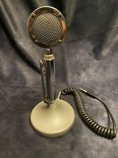 New ListingVintage Astatic Corp D-104 Lollipop Ham / Cb Radio Microphone G Stand / Base