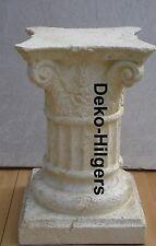 Antik Säule Blumensäule Tisch Design Barock Säulen Stuckgips  Auf Alt 1643 Crem