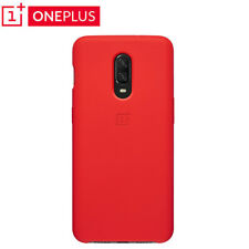 100% Original official Back Case Sandstone /Silicone Cover For Oneplus 6T 6 7Pro