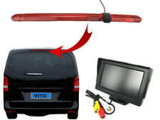 Mercedes Benz Vito Van Brake Light Reversing Reverse Camera and Dash Monitor