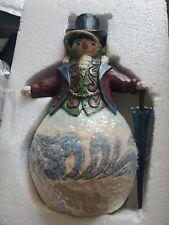 Jim Shore Dashing in The Snow Figurine 4047678 Victorian Snowman Christmas new