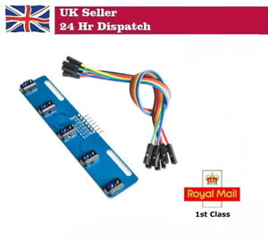5 channel Infrared Reflective Sensor TCRT5000 KIT 5 way IR Line Track Module