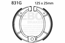 FIT BULTACO  Pursang MK7 and MK8 125/250/360  EBC FRONT GROOVED BRAKE SHOES