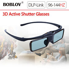 MX-30 DLP-Link 96HZ-144HZ USB Rechargeable 3D Active Shutter Glasses For LG Dell