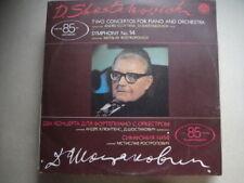 D. Shostakovich Rostropovich cluetens Doble Lp Rus