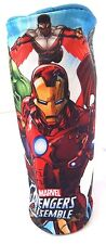 Marvel Comics Avengers Assemble Boy's Oval Graphic Pencil Case NWT
