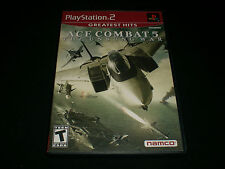 """Ace Combat 5: The Unsung War (Sony PlayStation 2) Complete """"Great Condition"""""""