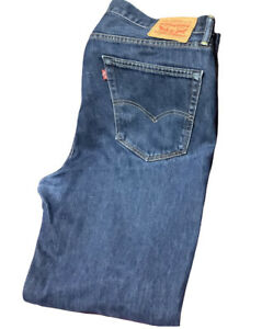 """🌺Levi's Mens 38""""W X 31"""" L Vintage 751 Standard Relaxed Straight Jeans🌺"""