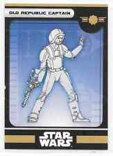 2008 Star Wars Miniatures Old Republic Captain Stat Card Only Swm Mini
