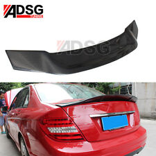 Carbon Fiber Rear R Look Spoiler For Mercedes Benz C Class W204 C200 C300 C63 AU