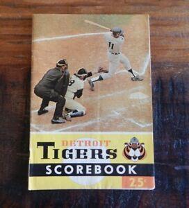 1966 DETROIT TIGERS VS MINNESOTA TWINS BASEBALL PROGRAM KALINE LOLICH KILLEBREW