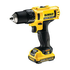 DEWALT CONDUCTOR DE PERFORACIÓN PILA 10,8 V 2.0AH MANDRIL 10-20MM LUZ LED 180W