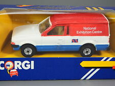 R&L Diecast: Corgi Ford Escort Mk3 Van, Boxed,National Exhibition Centre