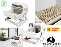 Quick Sift Kitty Litter Cat Litter Box Tray Semi Automatic Toilet Easy Clean Fun