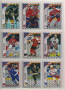 1993-94 Panini Glitter Insert Set -  Lindros, Patrick Roy, Gretzky Etc. (24)