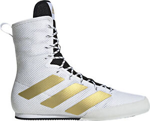 adidas Box Hog 3 Boxing Shoes - White