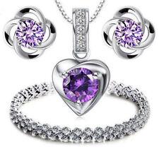 Modeschmuck-Halsketten & -Anhänger aus Stein Liebe & Herzen für Damen