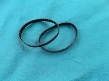 2 NEW DRIVE BELTS MADE IN USA FOR CENTRAL MACHINE SANDER 38123