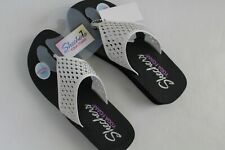 Skechers Sandals Women's with Yoga Mat Comfort size 7 White NEW NWT