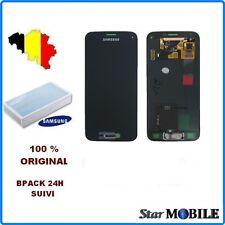 VITRE TACTILE + ECRAN LCD ORIGINAL COMPLET SAMSUNG GALAXY S5 MINI SM-G800F NOIR