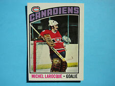1976/77 O-PEE-CHEE NHL HOCKEY CARD #79 MICHEL LAROCQUE NM SHARP!! 76/77 OPC