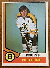 1974-75 O-Pee-Chee Hockey - #200 Phil Esposito - Boston Bruins