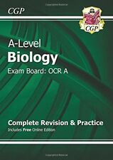New A-Level Biology: OCR A Year 1 & 2 Complete Revision & Practice with Online,