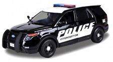 MOTOR MAX 1:24 W/B 2015 FORD POLICE INTERCEPTOR UTILITY WITH POLICE DECAL 76954