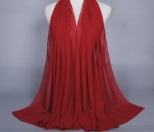 Women Fashion Chiffon Long Scarf Muslim Hijab Arab Wrap Shawl Headwear