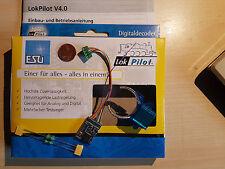 ESU 64630 LokPilot V4 Digital-Set mfx,MM,DCC,SX +Magnet +2 Drosseln NEU (54630)