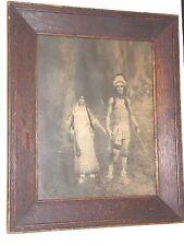 1901 Antique Copley Print-Curtis&Cameron-William L. Taylor's Hiawatha/Minnehaha