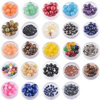 Charms Synthetische Achat Perlen Beads Kugeln für Armband Schmuck M5079