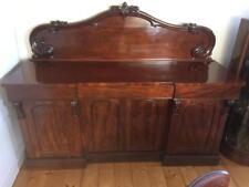 Victorian Antique Mahogany Chiffonier Sideboard in Excellent Condition