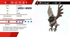 Corviknight Ultra Shiny Gigamax Battle Ready Sword - Shield  Pokemon Spada Scudo