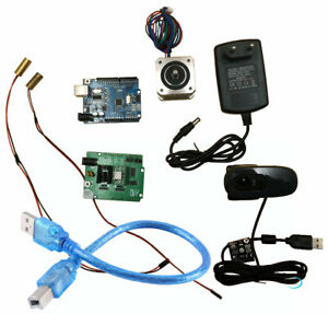 Ciclop 3d scanner electronics kit, motor, lasers, UNO controller,ZUM Scan board