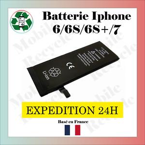 BATTERIE NEUVE IPHONE 6 / 6S / 6S PLUS / 7 // VENDEUR PRO FRANCAIS